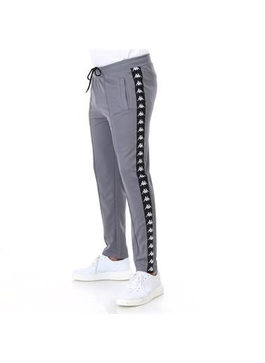 Kappa Şeritli Pantolon Seırt   Gri